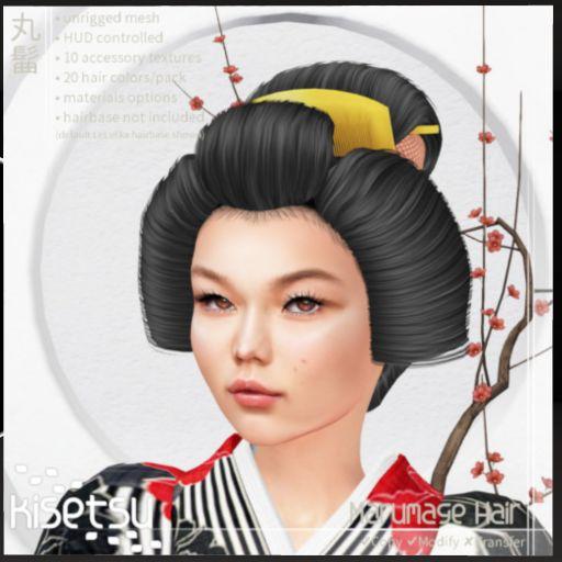 kisetsu Marumage Hair