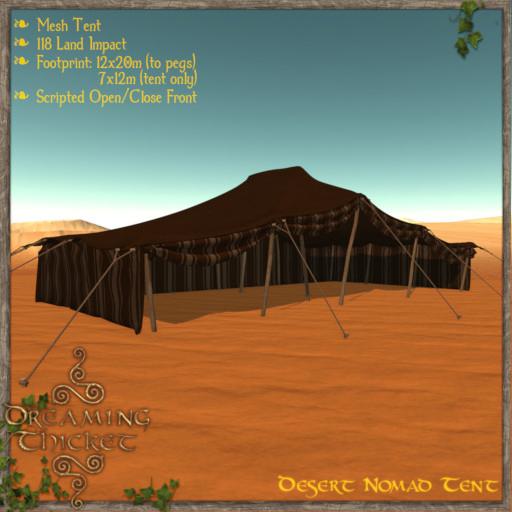 DreamingThicket-DesertNomadTent-BrownStripe