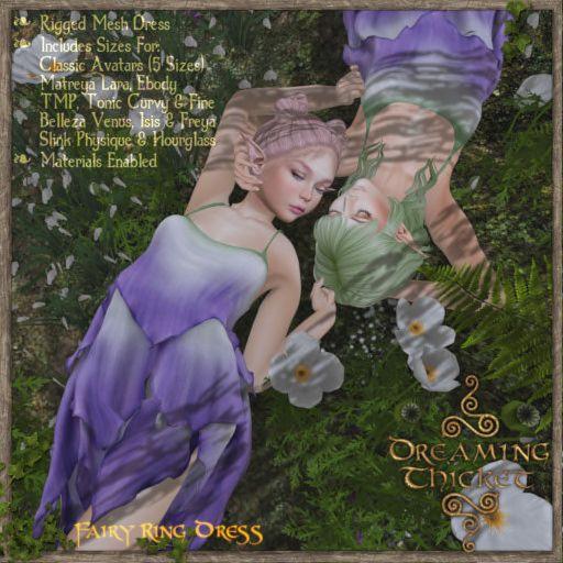 DreamingThicket-Poster-FairyRingDress-NoddingViolet
