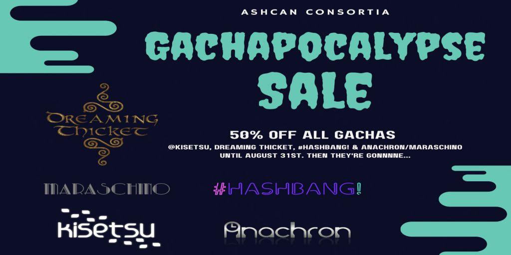 Gachapocalypse Sale AD